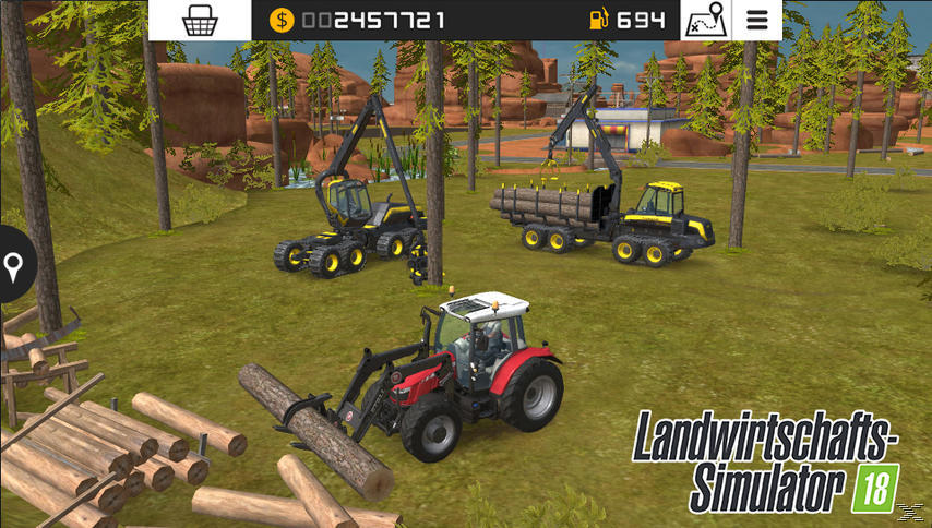 Landwirtschafts-Simulator 18 - Nintendo 3DS