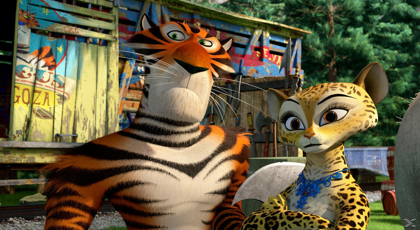 Madagascar 3 - Flucht durch Europa - (Blu-ray)
