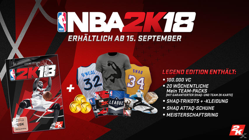 NBA 2K18 (Legend Edition) - PlayStation 4