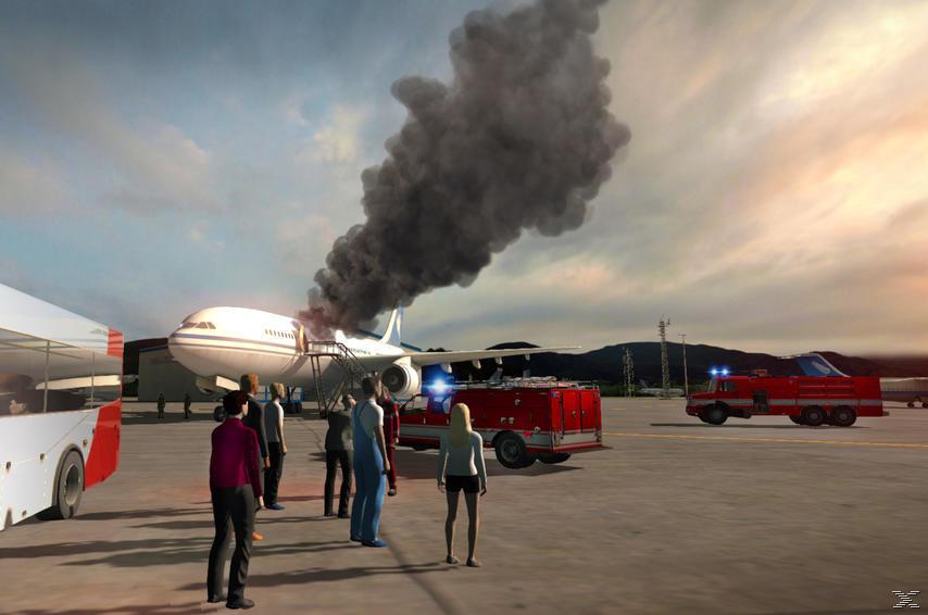 Flughafen-Feuerwehr: Die Simulation - PC
