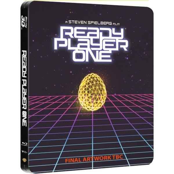 READY PLAYER ONE 3D (BLURAY STEELBOOK)