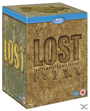 Lost Complete Collection Bluray Boxset