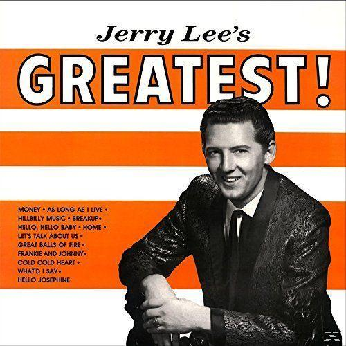 JERRY LEE'S GREATEST! (LP)