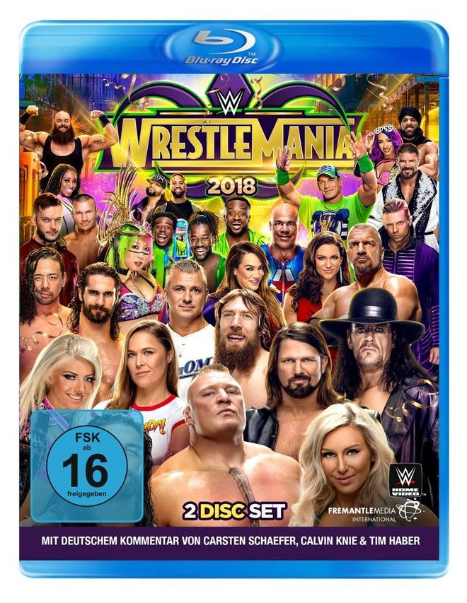 Wrestlemania 34 - (Blu-ray)