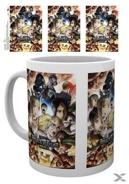 ATTACK OF TITAN MUG