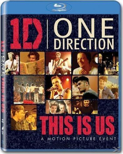 ONE DIRECTION: THIS IS US [BLU RAY]