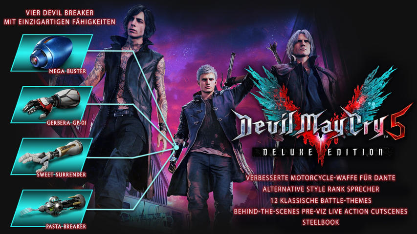 Devil May Cry 5 Deluxe Edition SteelBook® (Limited Edition) - PlayStation 4