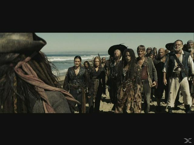 Pirates of the Caribbean 3: At World's End DVD