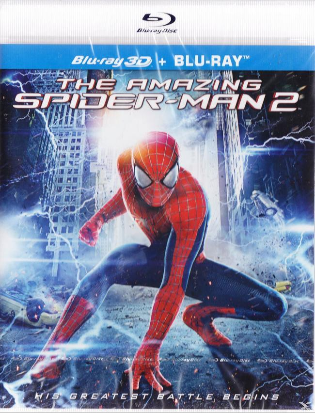 AMAZING SPIDERMAN 1+2 3D[&2D BLU RAY]