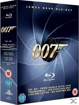James Bond Blu-Ray Collection Vol. 1 Bluray Box