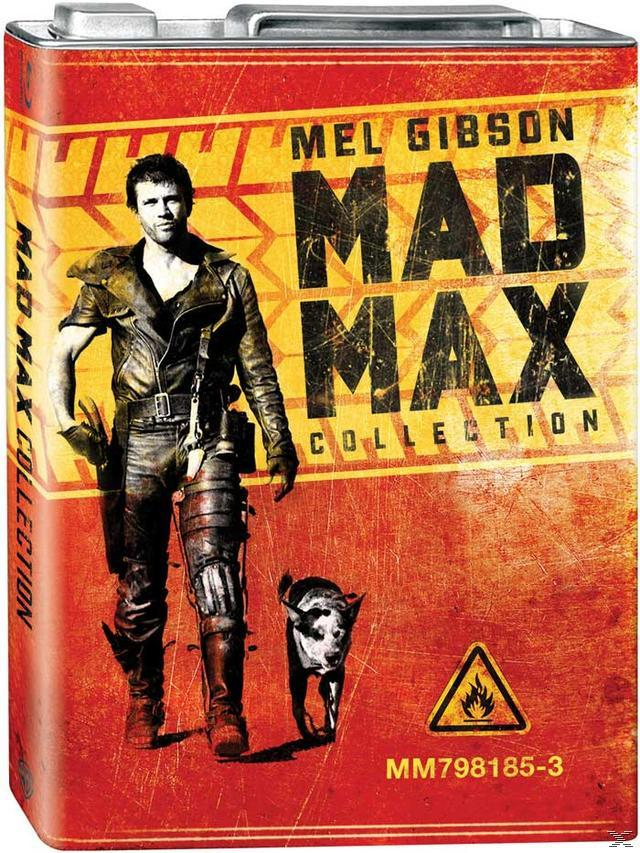 Mad Max - Limited Edition Trilogy with Petrol Can Packaging DVD-Box