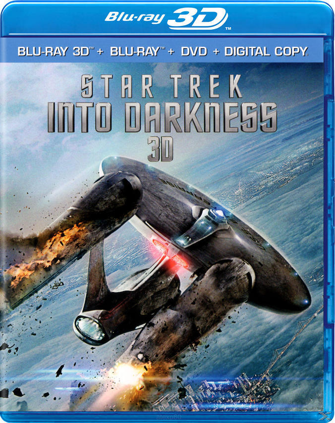 Star Trek Into Darkness - 2 Disc Bluray