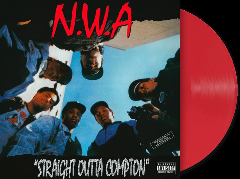 STRAIGHT OUTTA COMPTON (COLOURED LP)