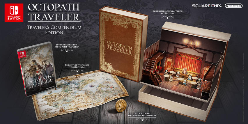 Octopath Traveler: Traveler's Compendium Edition - Nintendo Switch