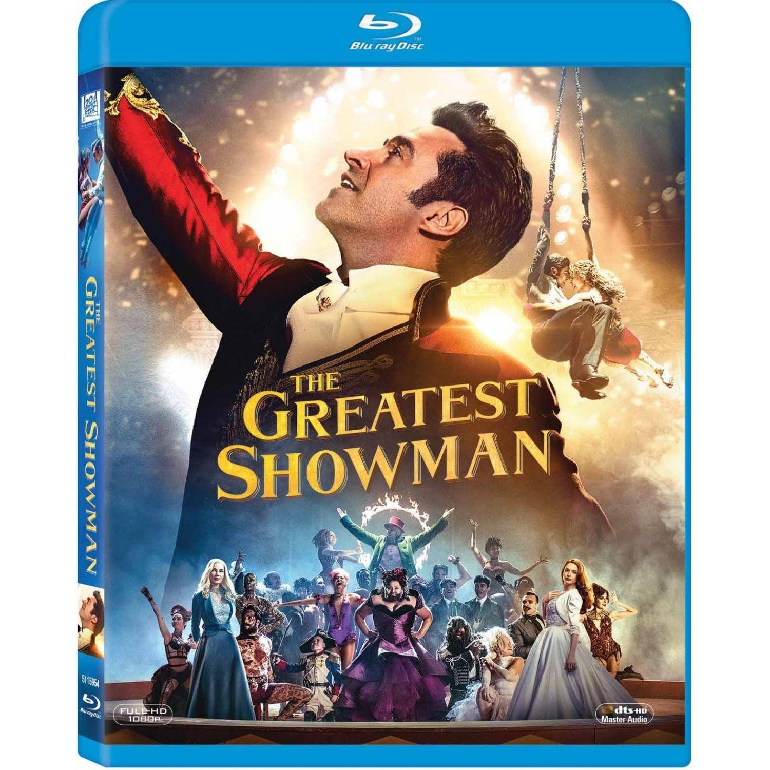 GREATEST SHOWMAN, THE (BLURAY)