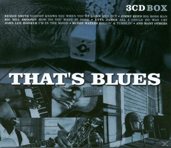 THATS BLUES (3CD)