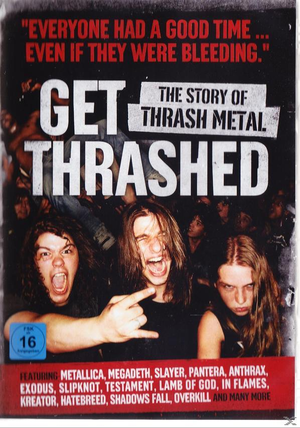 GET THRASHED: THE STORY OF (DVD)