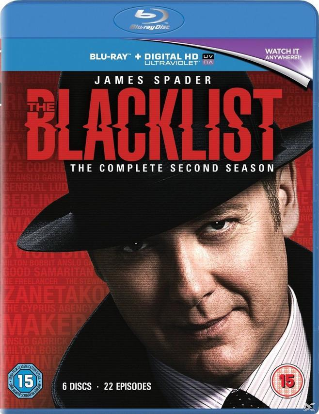 THE BLACKLIST  SEASON 2 (BLU RAY)