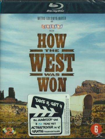 HOW THE WEST WAS WON [BLU RAY]