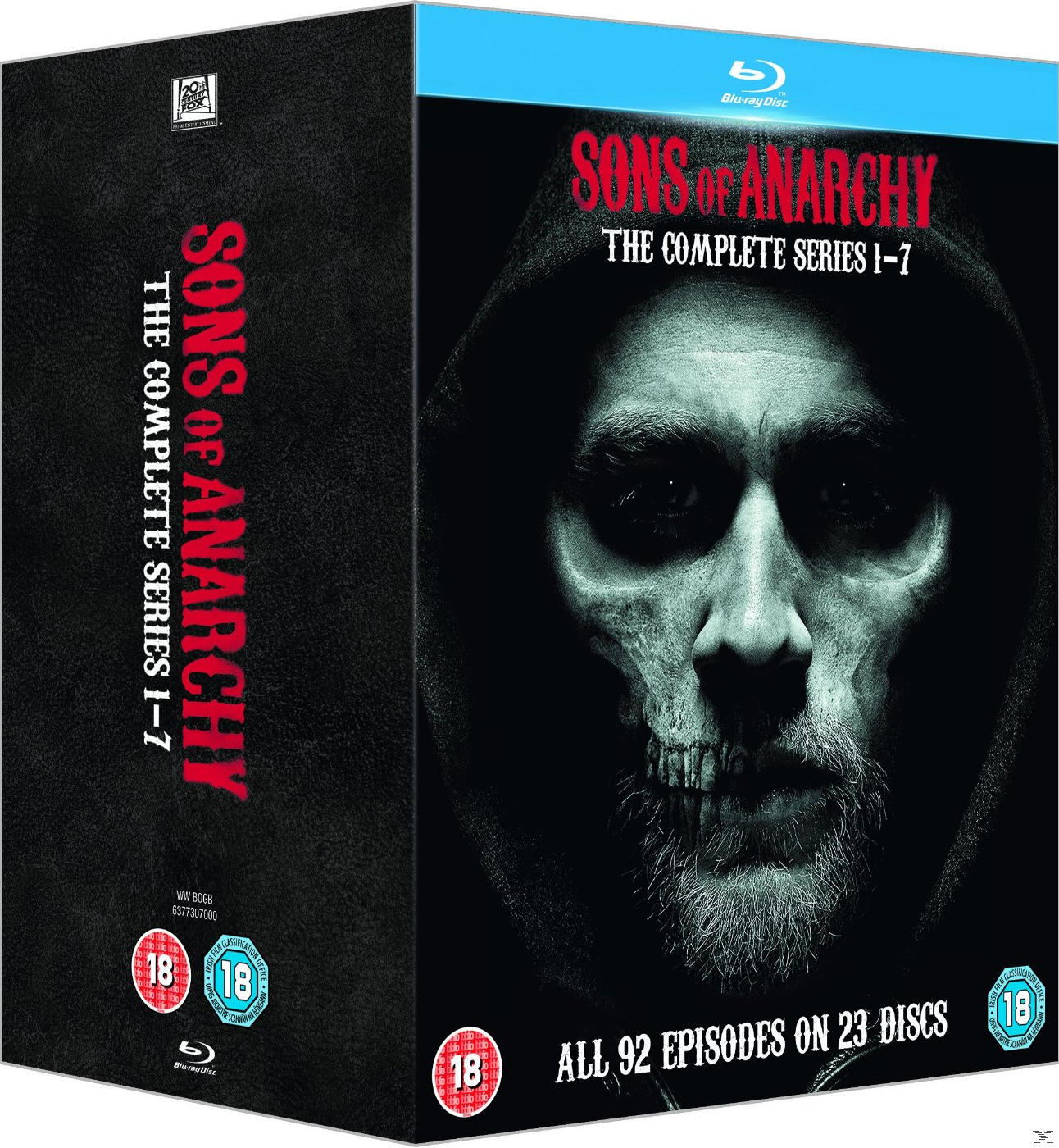 SONS OF ANARCHY S1-7[BLU RAY]