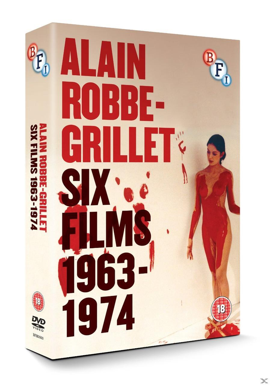 ALAIN ROBBE-GRILLET: SIX FILM 1964-1974