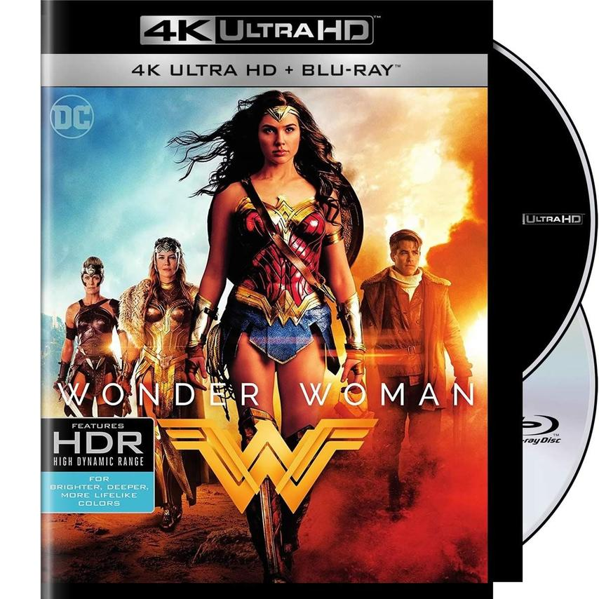 4K WONDER WOMAN [BLU RAY]