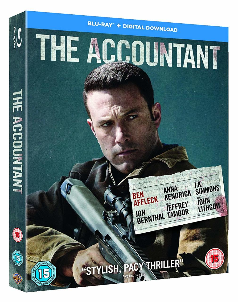 ACCOUNTANT (BLURAY)