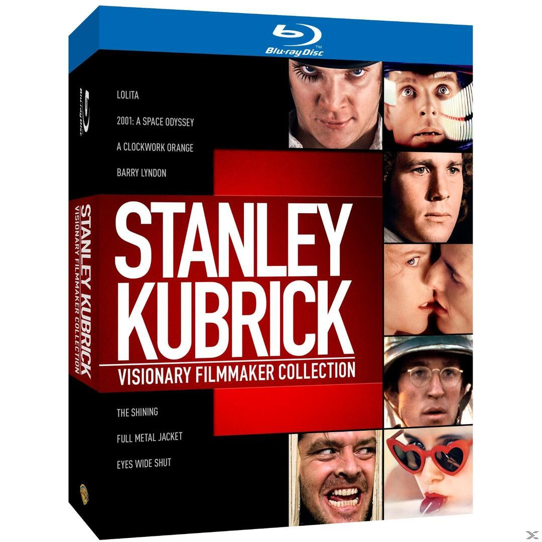 Stanley Kubrick Collection Bluray Box