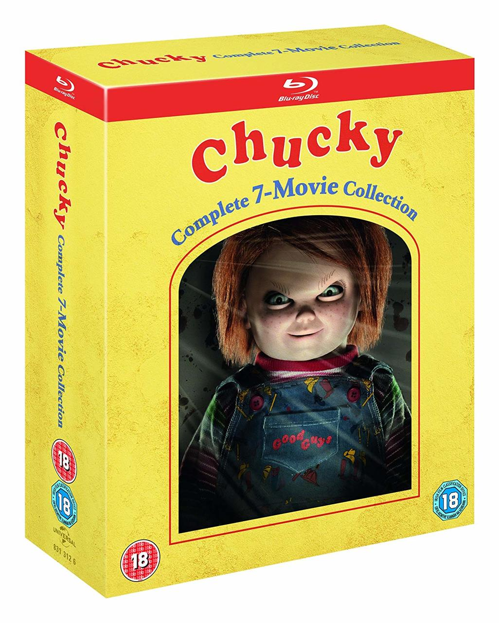 CHUCKY COMPLETE COLLECTION (7BLURAY)