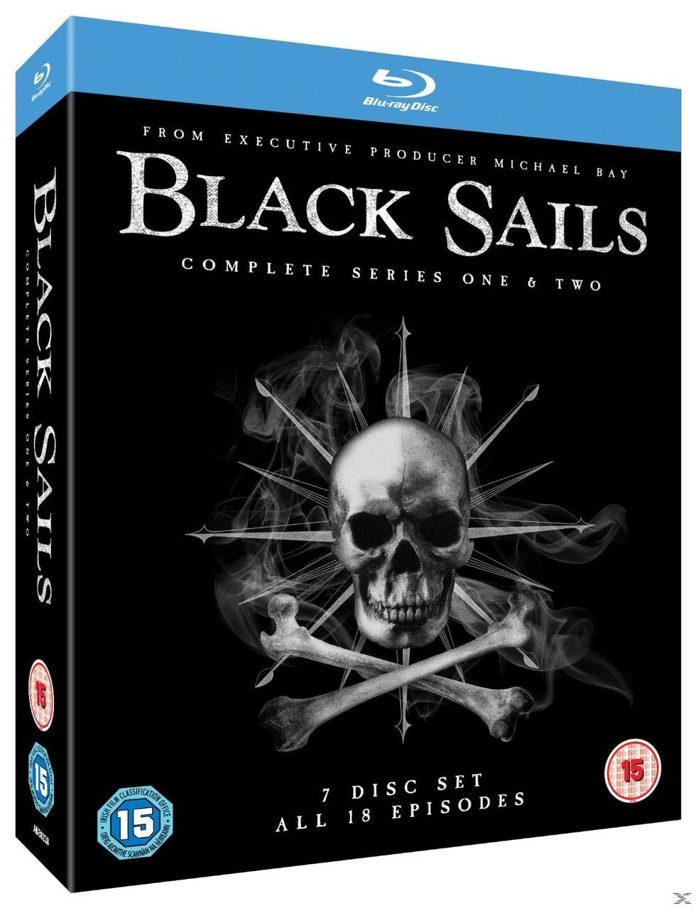 BLACK SAILS S1-2[BLU RAY]