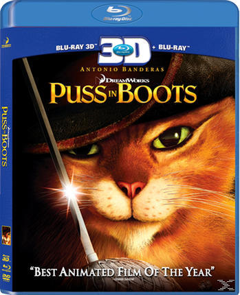 PUSS IN BOOTS 3D[&2D BLU RAY]