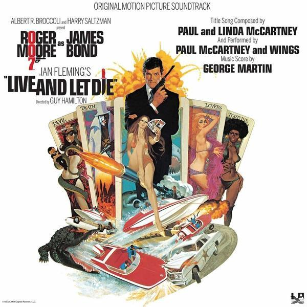 JAMES BOND LIVE AND LET DIE (RSD LP)