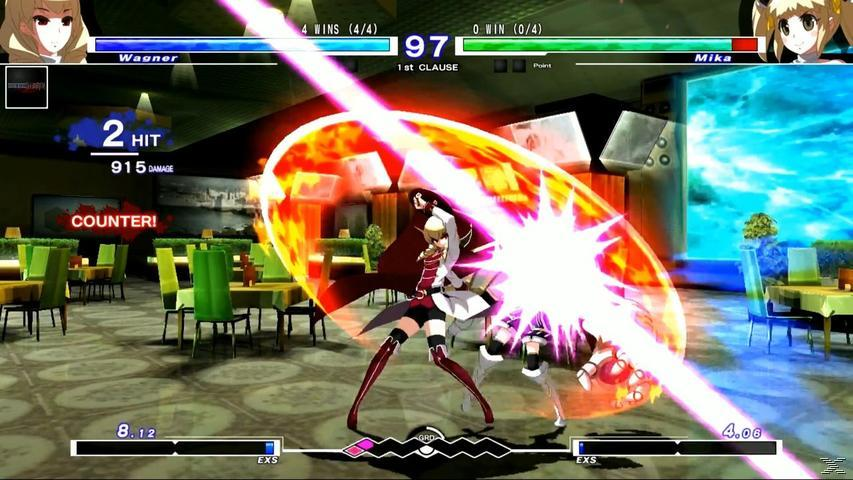 PS4 Under Night In-Birth Exe: Late(ST) (Ltd. Edit.) - PlayStation 4