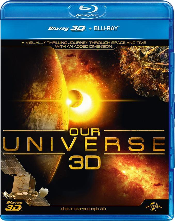OUR UNIVERSE 3D [BLU RAY]