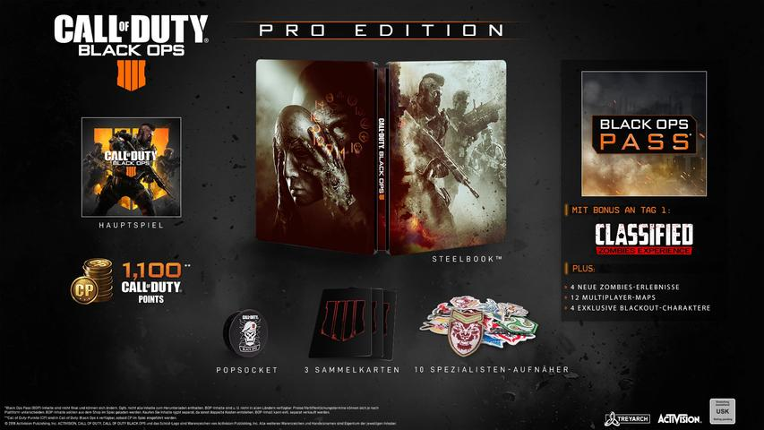 Call of Duty: Black Ops 4 (Pro Edition) - PlayStation 4