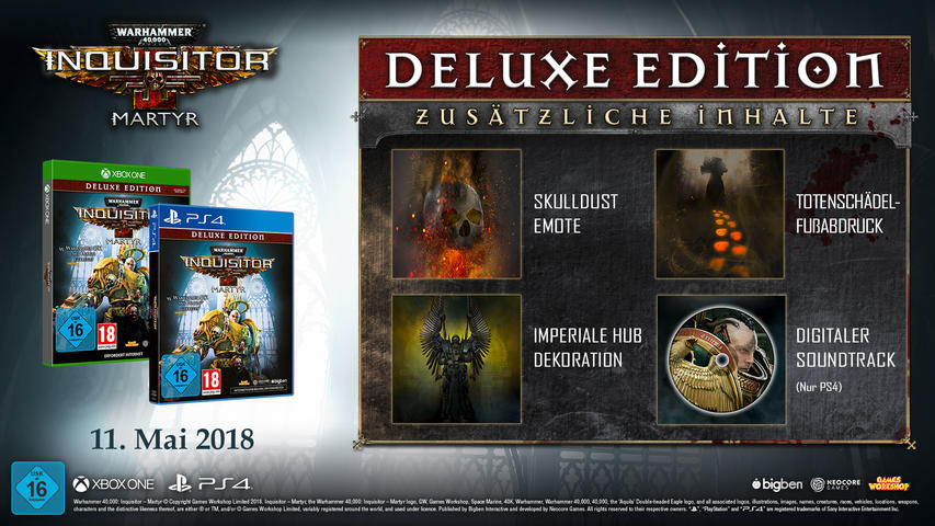 Warhammer 40.000: Inquisitor - Martyr (Deluxe Edition) - Xbox One