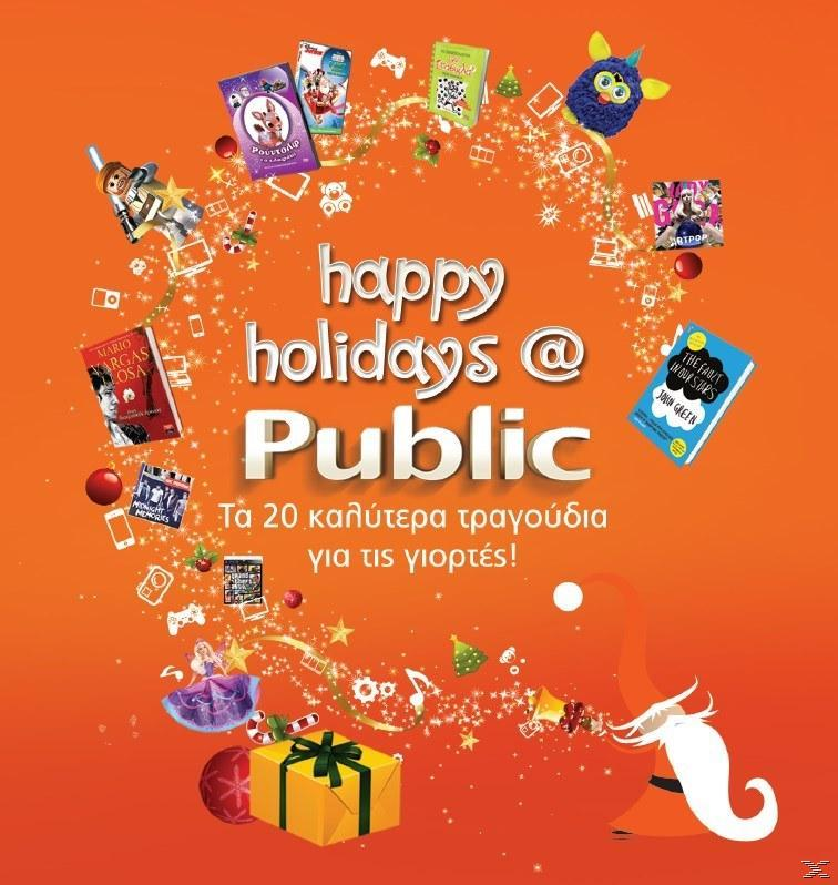happy holidays @ Public