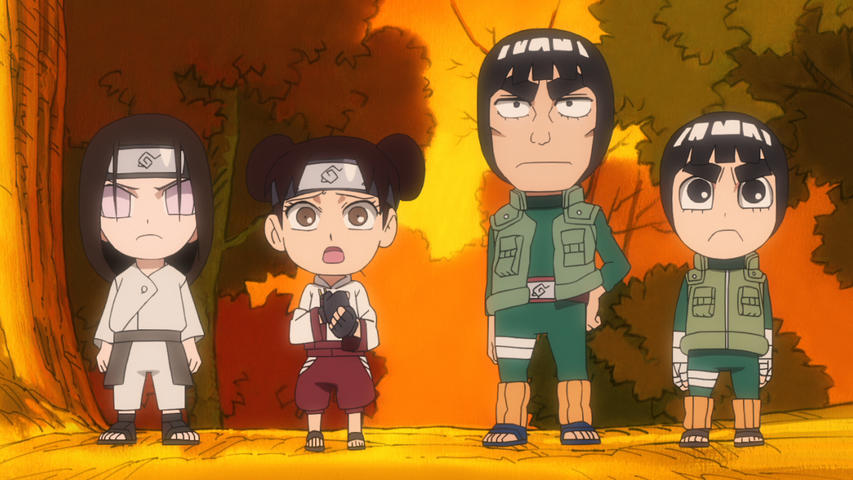 Naruto Spin Off! Rock Lee & seine Ninja Kumpels Vol. 3 - (Blu-ray)