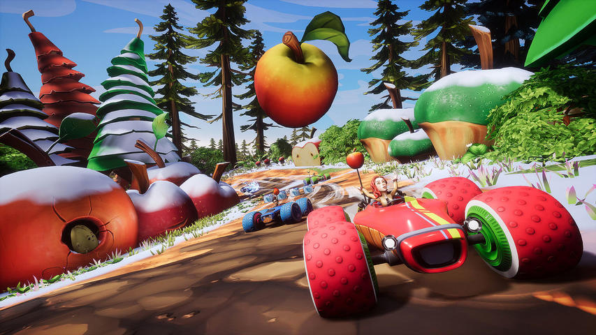 All-Star Fruit Racing - PlayStation 4