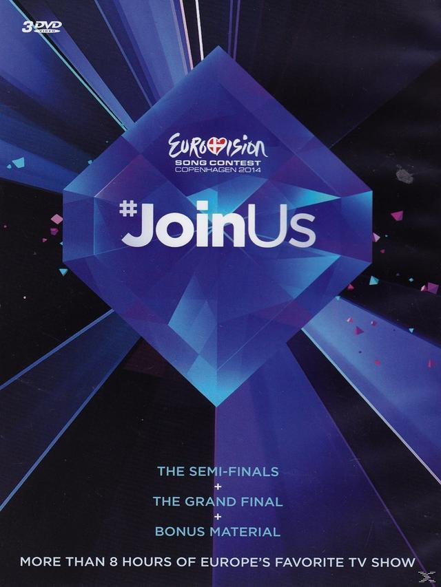 EUROVISION SONG 2014 (3DVD)