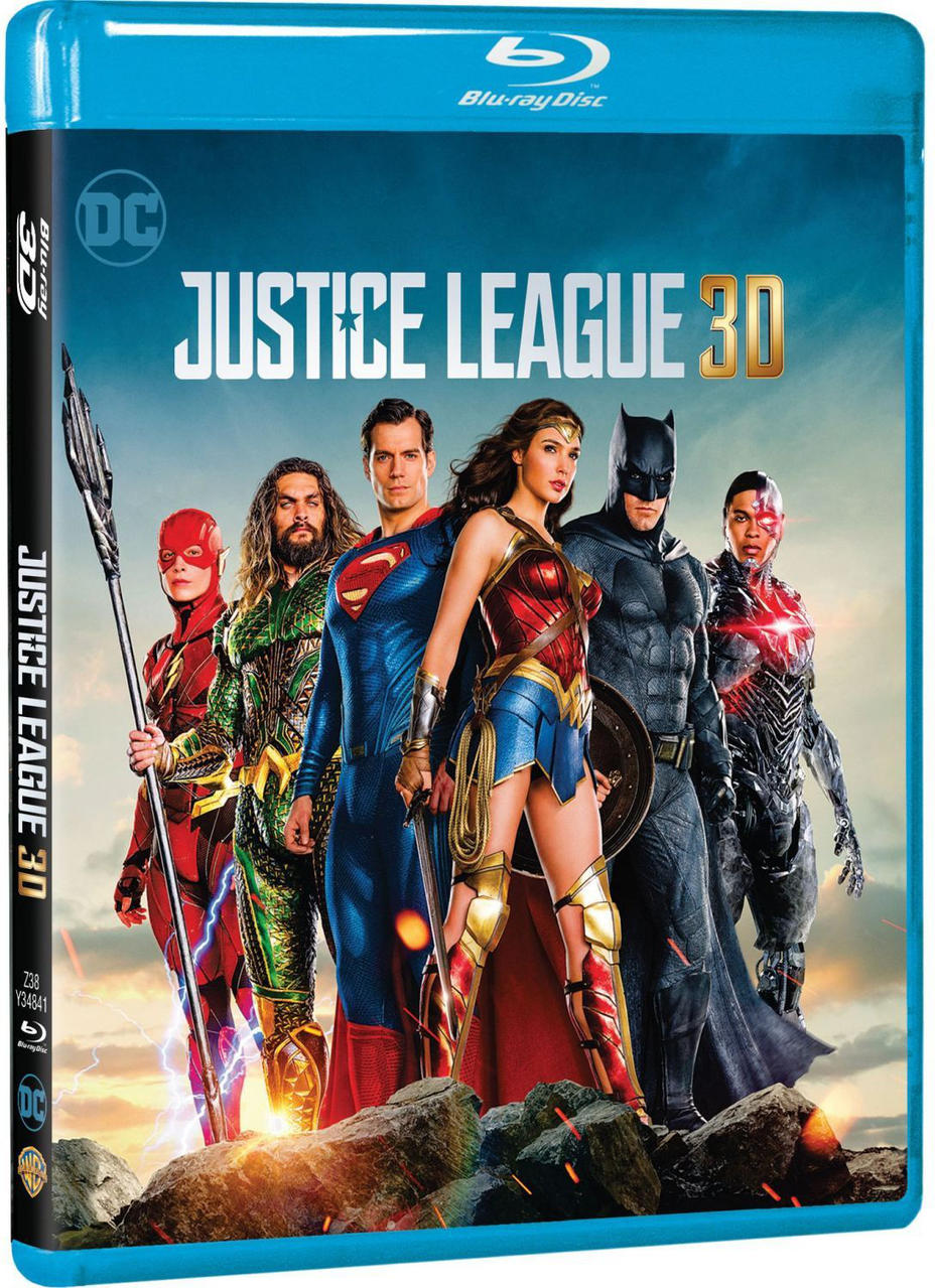JUSTICE LEAGUE 3D [&2D BLU RAY]