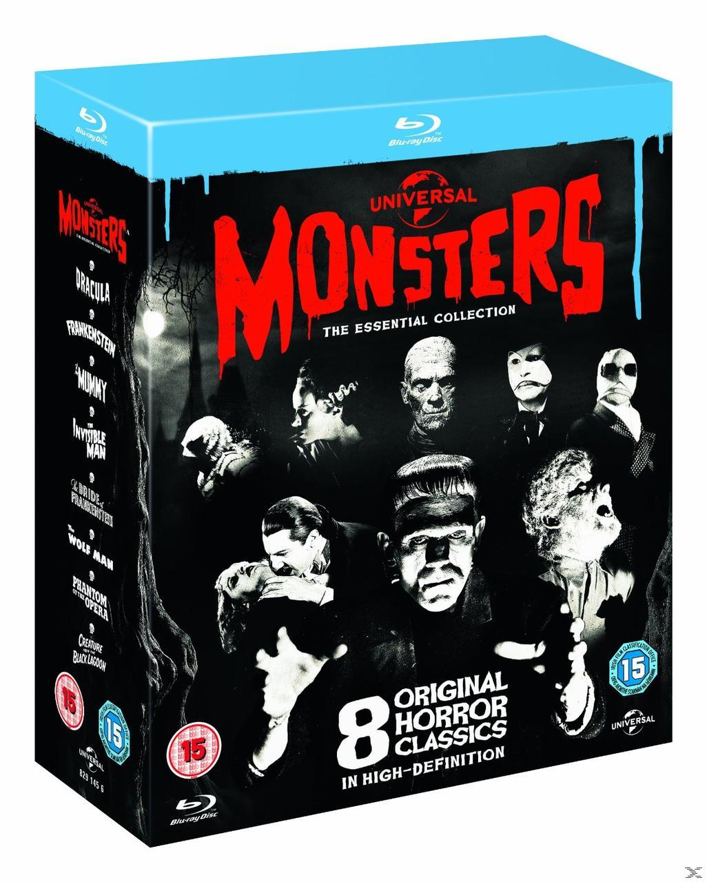 UNIVERSAL CLASSIC MONSTERS[BLU RAY]