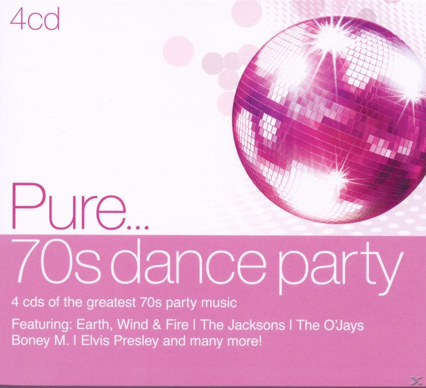 PURE... 70S DANCE PARTY (4CD)