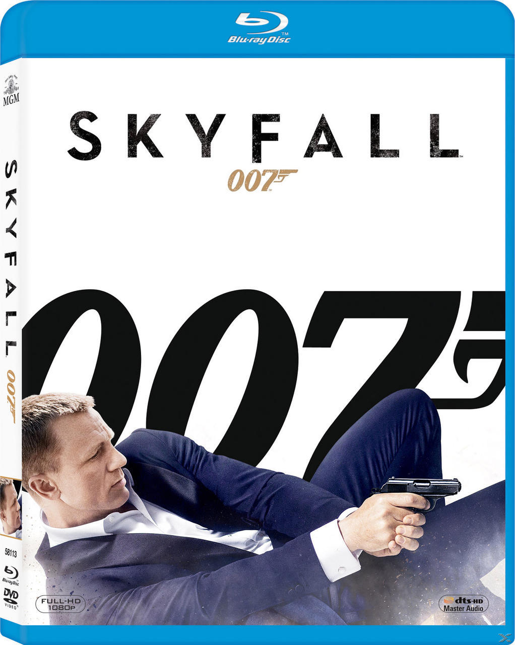 Skyfall - 2 Disc Bluray