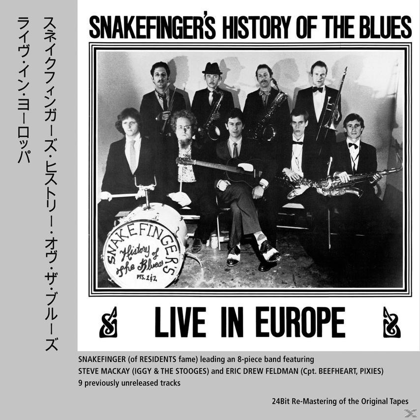 SNAKEFINGERS HISTORY OF THE BLUES