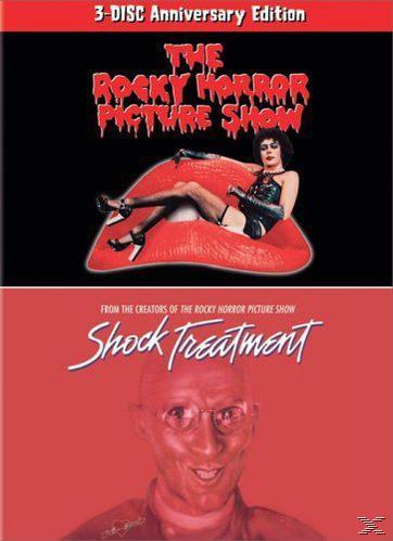 The Rocky Horror Picture Show / Shock Treatment Lip Box Set