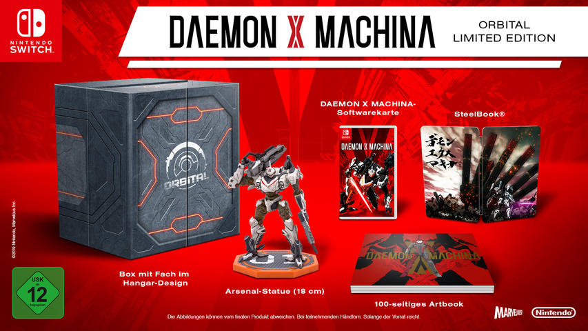 Daemon X Machina Orbital Limited Edition FR/NL Switch