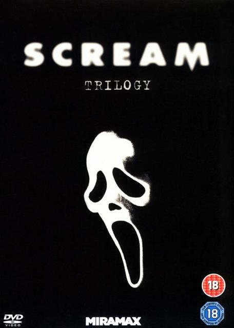 SCREAM TRILOGY (3DVD)