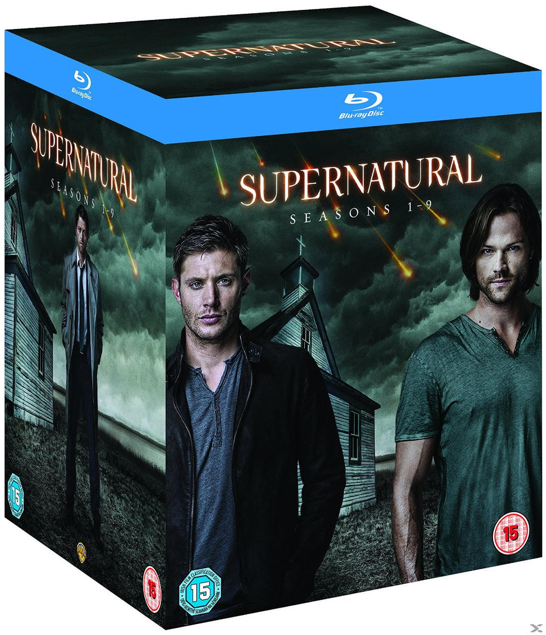 SUPERNATURAL S1-9[BLU RAY]