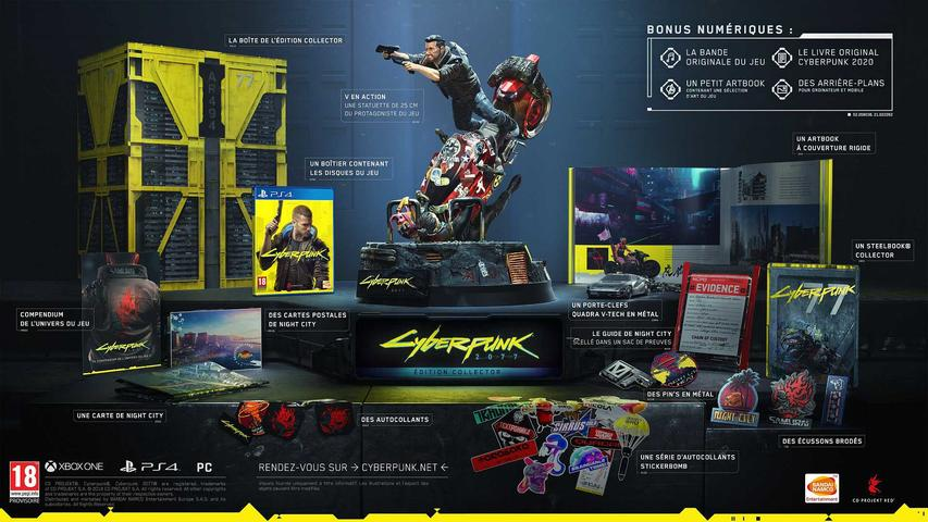 Cyberpunk 2077 Collector's Edition FR PS4